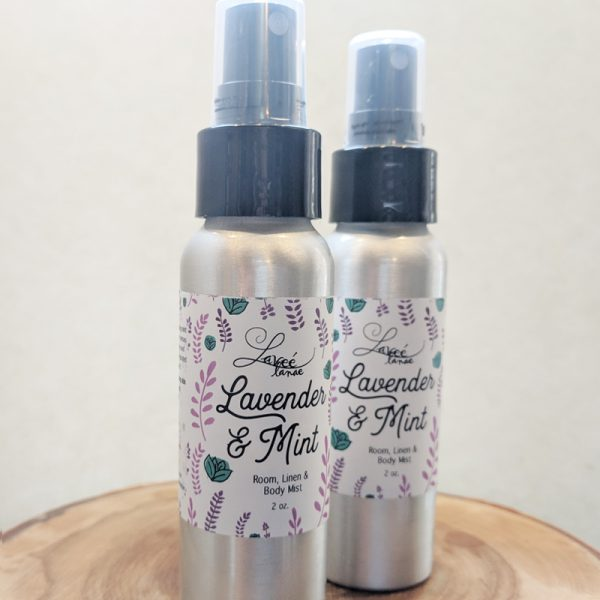 Lavender Mint Room Linen and Body Mist
