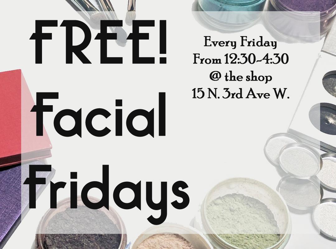 Facial Friday Banner