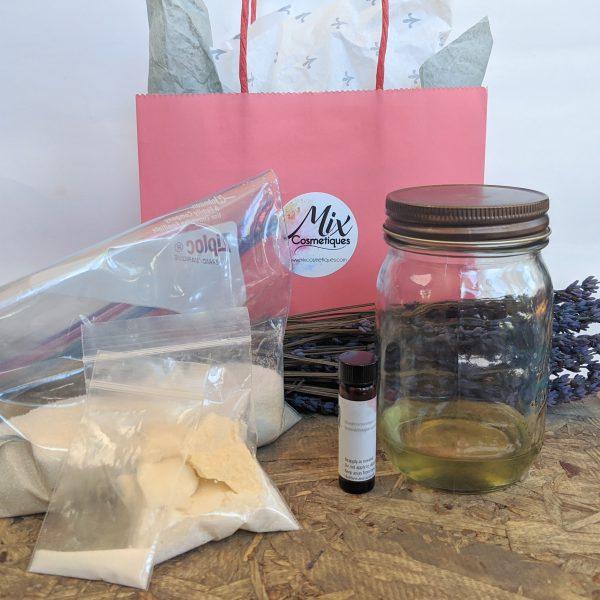 sugar scrub, make sugar scrub, DIY, DIY sugar scrub kit, organic sugar scrub