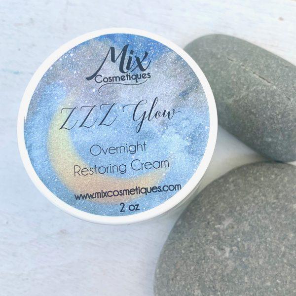 Glowing skin night cream overnight restoring cream